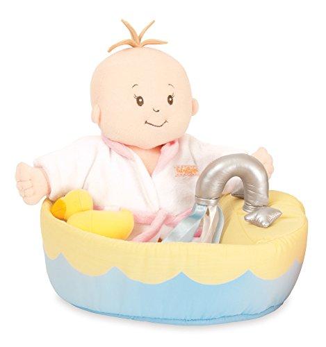 "Manhattan Toy Baby Stella Soft Bath Baby Doll Accessories Set for 12"" and 15"" Soft Dolls"