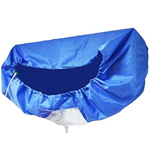 herramientas otro lado del acondicionador de aire de la cubierta a prueba de agua de lavado de limpieza Protector de bolsa de aire acondicionado para 1-1.5P