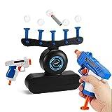Suspension Ball Toy, Electric Hover Shooting Target Floating Ball Target Soft Bullet Toy Juegos de Disparos en Interiores para niños cumpleaños para niños