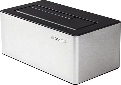 Freecom Hard Drive Dock Docking stations metallic 8,9 cm (3.5 Zoll)/6,4 cm (2.5 Zoll) (USB 3.0, ESATA)