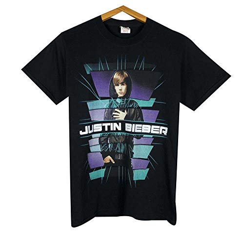 J-ustin B-ieber World Tour 2011 T Shirt Womens Size Small Short Sleeve