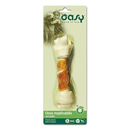 Oasy Snack - Osso Masticabile con Pollo Tg XL Blister Gr 98