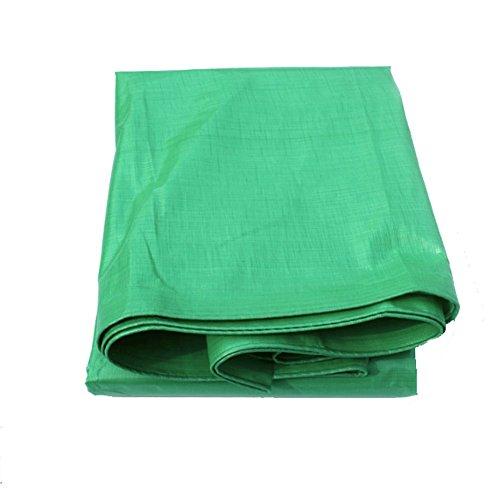 Tent accessoires dekzeil gewatteerde plastic doek luifel doek zonnebrandcrème zonnebrandcrème doek auto dekzeil voor regendichte zonnescherm outdoor picknick (lichtgroen) tuin buiten 4 * 5m