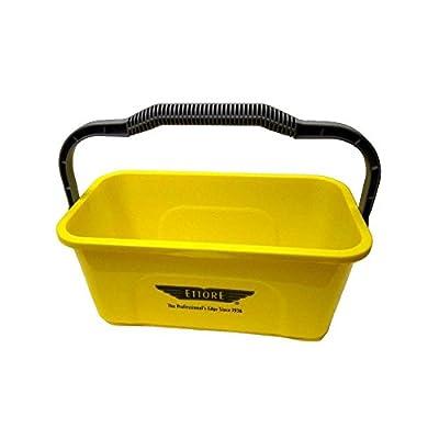 Ettore 3 Gallon Compact Super Bucket with Ergonomic Handle, 1 Pack (Original Version)