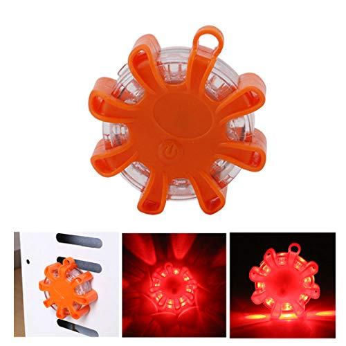 Justdolife LED Voyant de Sécurité Flare Portable Clignotant Magnétique Flare Route Flare pour Voiture