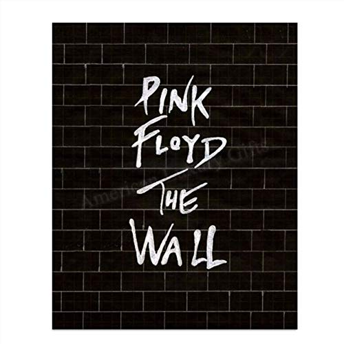 Pink Floyd-The Wall- Rock Music Wall Art- 8 x 10 Wall Print- Ready To Frame- Iconic Music Poster Replica Print. Home Decor- Studio-Bar- Dorm- Man Cave Decor. Perfect Gift for Pink Floyd Fans.