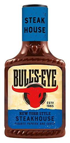 Bull's Eye Steakhouse BBQ Sauce, 6er Pack (6x 300 ml)