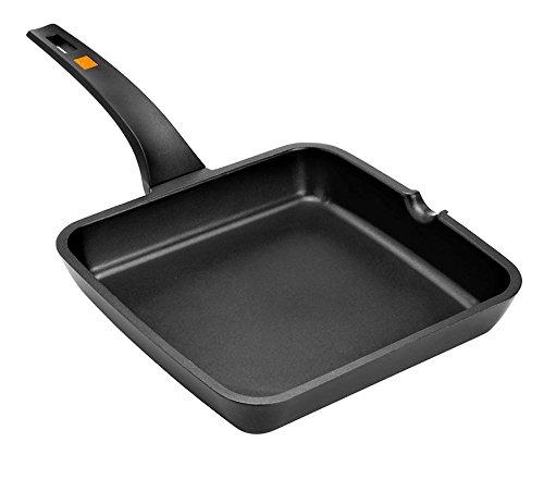 BRA Efficient-Grill asador, Negro, 28 cm