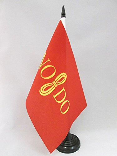 AZ FLAG Bandera de Mesa de la Ciudad DE Sevilla 21x14cm - BANDERINA de DESPACHO SEVILLANA 14 x 21 cm