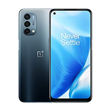 OnePlus Nord N200 | 5G Unlocked Android Smartphone U.S Version | 6.49″ Full HD+LCD Screen | 90Hz Smooth Display | Large 5000mAh Battery | Fast Charging | 64GB Storage | Triple Camera