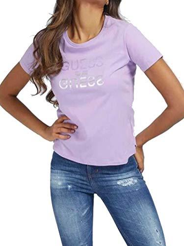 Guess Camiseta de Manga Corta de Mujer Lila W1GI0CI3Z11-G4G8 L