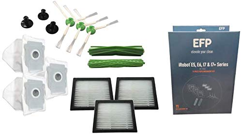 EFP Replenishment Kit for Roomba E5, E6, i7, i7+, i7 Plus Robotic Vacuum....
