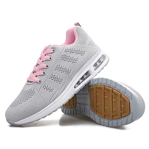 Trainers for Women Lightweight Lady Running Shoes Breathable Men Air Shoes Sneakers Sport Walking Gym Fitness Jogging Athletic Casual