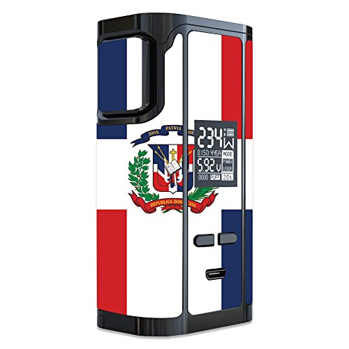 MightySkins Skin Compatible with iJoy Captain PD270 - Dominican Flag | Protective, Durable, and Unique Vinyl Decal wrap Cover | Easy to Apply, Remove, and Change Styles | Made in The USA