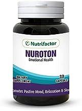 Nuroton Emotional Health, Promote positive mood, relaxation & sleep