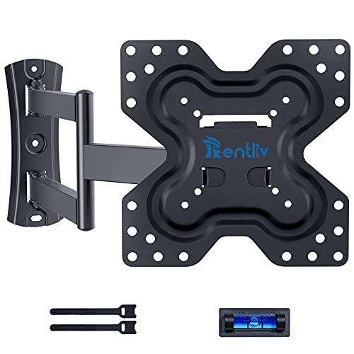 Soporte de Pared para TV Inclinable Giratorio para la Mayoría de las Pantallas Planas y Curvas LED LCD OLED de 13-42 pulgadas, Soporte de Pared para TV y Monitores que Pesan 45kgs y de VESA 200x200 mm