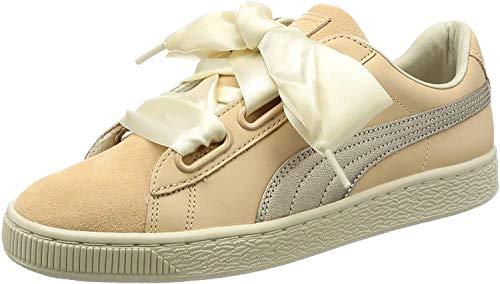 Puma Basket Heart Up Mujer Zapatillas Natural 37 EU