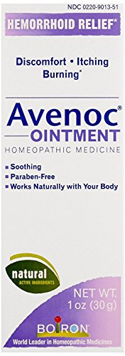 Boiron Avenoc Ointment, 1 Ounce, Homeopathic Medicine for Hemorrhoids