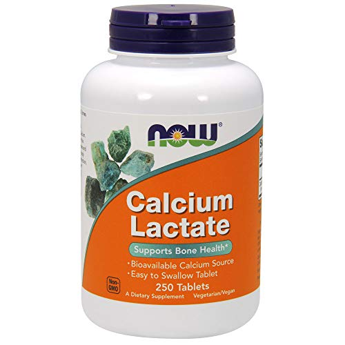 Calcium Lactate, 650 mg, 250 Tablets