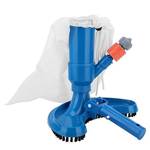 iDWF Piscina Aspirador Limpieza con Herramienta de Succión Estanque Fuente Vacuum Cleaner Vacuum Cleaner Cepillo Hot Spring (Color : Green)