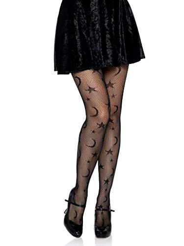 Leg Avenue Women's Celestial, black, One Size