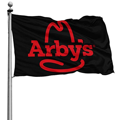 Lunjuito Arby's Home Decoration for Home Garden Flag Garden for Home Garden Flag Indoor Outdoor for Home Garden Flag 4x6 Ft Fashion Black Mississippi