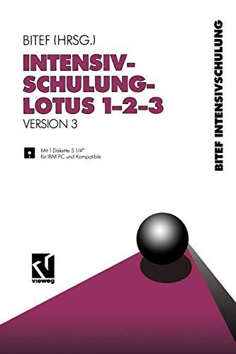 Intensivschulung LOTUS 1-2-3: Version 3