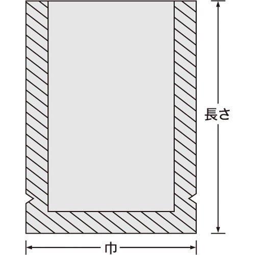 『ナイロンポリ 新Lタイプ規格袋 No.16 (100枚) 巾220×長さ330㎜』の3枚目の画像
