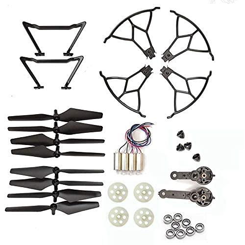 Accessori per droni Per KY601S KY601G RC ricambi per droni lame motori motori a braccio eliche ingranaggi protezioni Cambia oggetti di scena (Colore : Ky601g)
