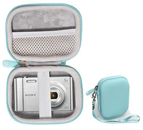 WGear Digital Camera Case for Canon PowerShot ELPH180, ELPH 190, ELPH 350 HS, ELPH 310 HS, ELPH 360; Sony W800/S, DSCW830; AbergBest 21 Mega Pixels; Kodak FZ43, FZ53-BL; Nikon COOLPIX L32, Lecran