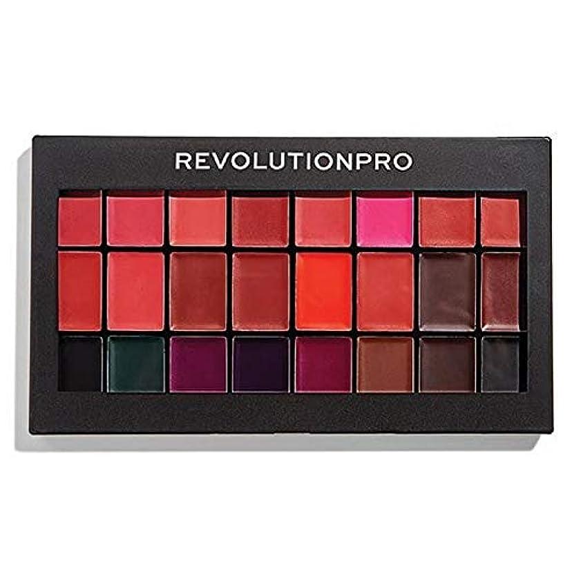 穿孔するマイク保持する[Revolution ] 革命プロ口紅キット赤&Vamps - Revolution Pro Lipstick Kit Reds & Vamps [並行輸入品]