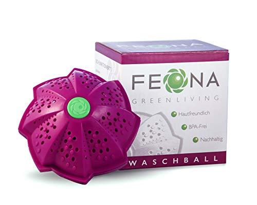 [%Aktion%] FEONA Öko Waschball für die Waschmaschine | Bio Waschkugel mit 4 Mineralien &...