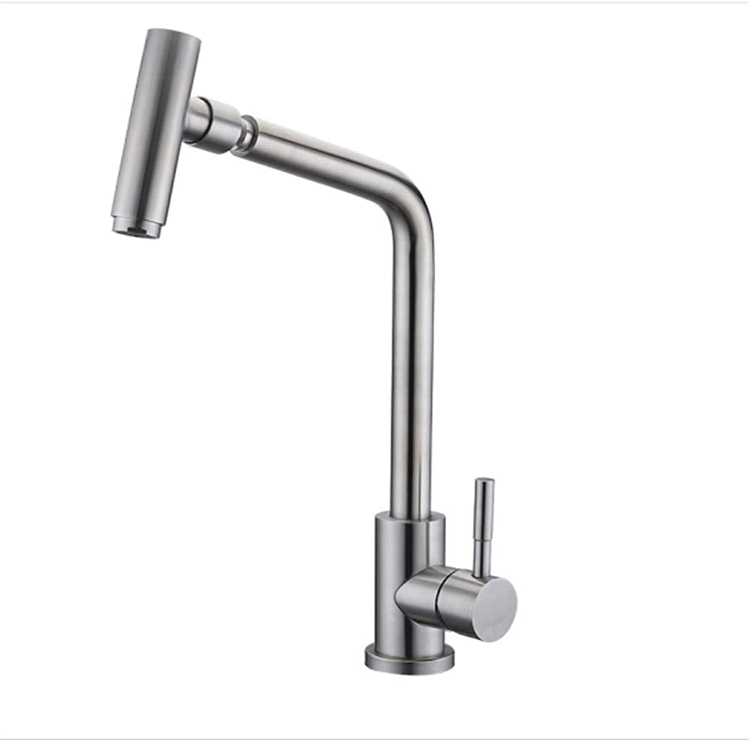 304 Stainless Steel Kitchen Faucet, Sink, Vegetable Basin, hot Water Faucet.