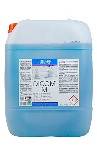 DETERGENTE LIQUIDO HUMECTANTE PROFESIONAL DICOM M .Garrafa 20l .Es un detergente de...