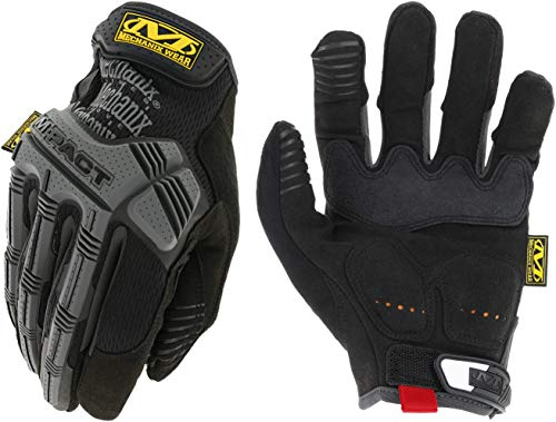 Mechanix Wear - M-Pact Work Gloves (X-Large, Black/Grey)...