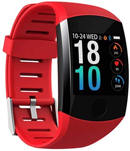 hwbq Relojes inteligentes Fitness Trackers Smart Watch con pantalla táctil 1.3 Monitor de actividad con monitor de ritmo cardíaco IP67