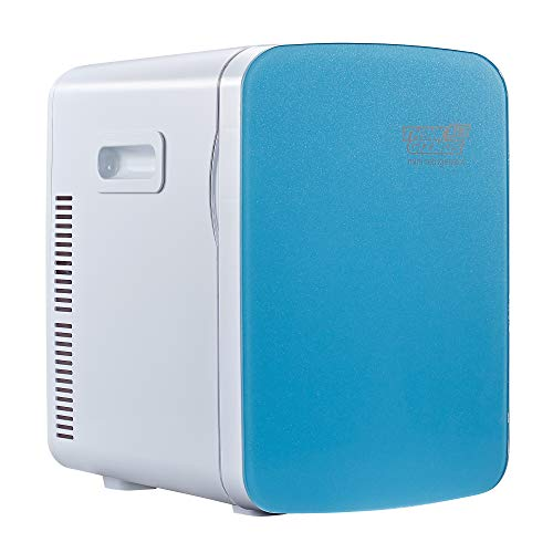 15L Mini-Kühlschrank TG718 - Minikühlschrank, elektrischer Kühler und Erwärmer - Gleich-/Wechselstrom, tragbares thermoelektrisches System