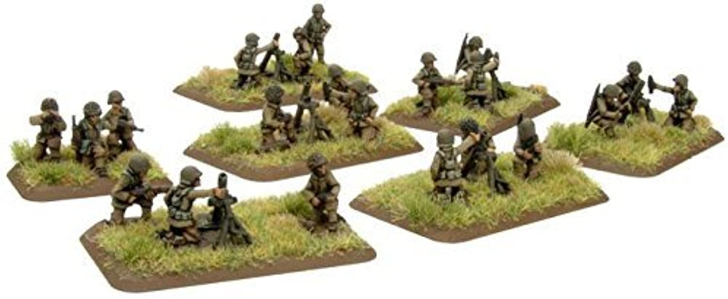 USA  Mortar Platoon (Late) by Battlefront Miniatures
