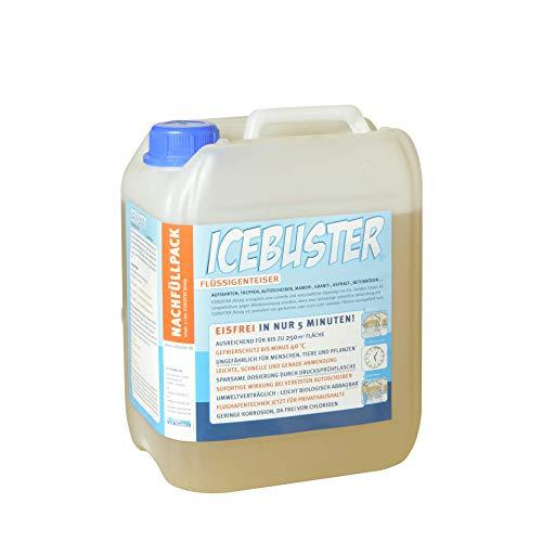 5 Liter Flüssigenteiser ICEBUSTER im Nachfüll-Set - salzfrei