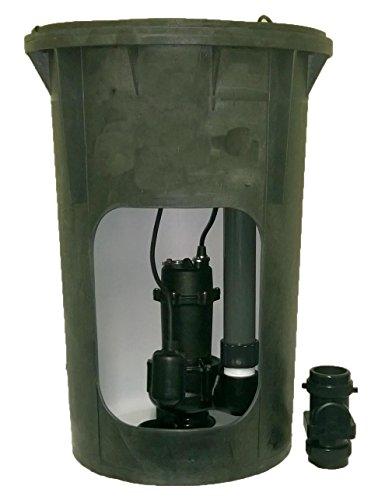 Jackel Pre-Plumbed 1/2 HP Sewage Package (Model: JPACK30S-550T)