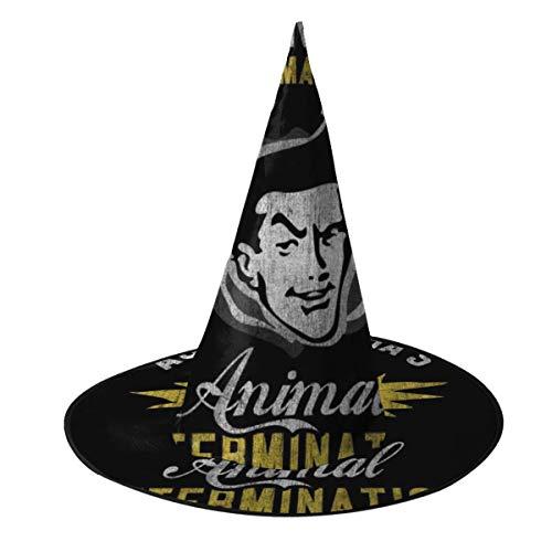 OJIPASD Ace Venturas Humano Animal Exterminacin Bruja Sombrero Halloween Unisex Disfraz para da Festivo Halloween Navidad Carnaval Fiesta