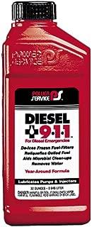 Power Service 08025-12-12PK Diesel 9-1-1 Anti-Gel - 32 oz., (Case of 12)