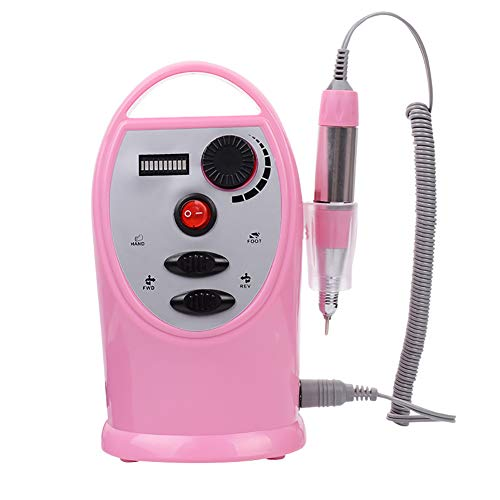 Oplaadbare nagelboor, oplaadbare elektrische boormachine voor nagels, 35000 tpm.