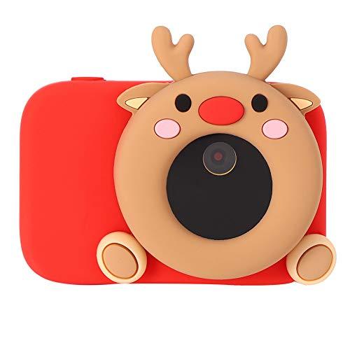 FastUU Kinderkamera, 32MP 2.4 '' 1080P HD Digitaler Kinder-Camcorder, WiFi APP Control Videokamera mit 32G Speicherkarte für Jungen und Mädchen Geburtstags