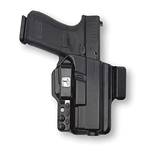 Holster for Glock 19 23 32 (Gen 5 4 3) - IWB Holster for Concealed Carry / Custom fit to Your Gun - Bravo Concealment