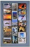Wand Postkartenständer 12x17 cm mit 19 Taschen (völlig Aussicht)