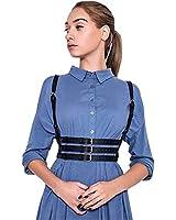 Body Chest Harness Waist Harajuku Belt Bandeau Lingerie Halter Caged Bra Adjustable Strap for Women (B174)