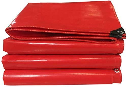 Toile d'ombrage SLL- Ombre Tissu Pluie épais Tissu Couteau grattoir Tissu imperméable Abat-Jour en Tissu Bâche Exposition Rouge Bâche Crème Solaire (Size : 4x6m)