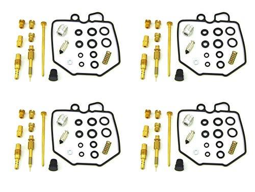 4X CARBURETOR CARB REBUILD REPAIR KIT Fit for 80-83 CB750 CB750C CB750K CB750SC