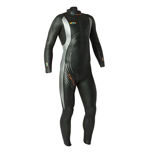BlueSeventy 2019 Herren Thermo-Reaction Triathlon-Neoprenanzug – für kaltes, offenes Wasser – Ironman & USAT zugelassen, Herren, schwarz, Small